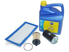 DODGE CALIBER 2.0 CRD SERVICE KIT OIL AIR FUEL DIESEL FILTER 5W30 5L ENGINE OIL