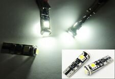 No Error 3 SMD LED License Plate Light Step Map 2825 BMW E63 E64 M6 E65 E66 750i