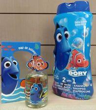 Alla ricerca di DORY DISNEY PIXAR bagnoschiuma+edt profumo eau de toilette 50ml.