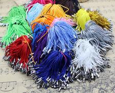 Lot 20 Colors 100pcs Cell Phone Lanyard Cords Strap Lariat Mobile Dangle DIY