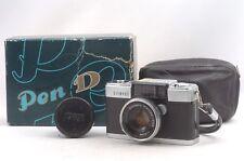 @ Ship In 24 Hrs! @ Rare Box Set! @ Olympus Pen-D Half Frame Camera Zuiko 32/1.9