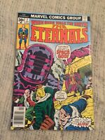 THE ETERNALS #7 1st APP of JEREMIAH TEFRAL NEWSSTAND [MARVEL COMICS]