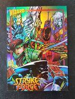 MARC SILVESTRI'S STRYKE FORCE #9 1993 IMAGE WIZARD HOLOFOIL CARD(MINT) FREE SHIP