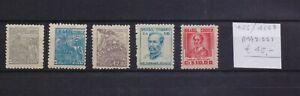 ! Brazil 1947-1955. Stamp. YT#466/468B. €45.00!