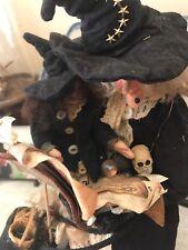 Kim Klaus OoAk HandMade Witch/child Doll~Antique Vintage Primative Halloween