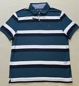 Tommy Hilfiger Polo Shirt Mens Size Medium New Without Tags Performance Pique
