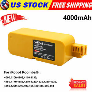4.0Ah Vacuum Battery For iRobot Roomba APC 400 4000 4905 4210 Discovery Series