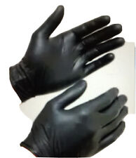 Nitrilo Preto Industrial GlovePlus Luvas Descartáveis Ambidestro livre de látex