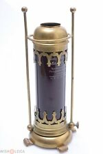 """21CM/8"""" ANTIQUE BROWN DARK ROOM FOR CANDLES LAMP, SAFELIGHT COLLODION, WET-PLATE"""