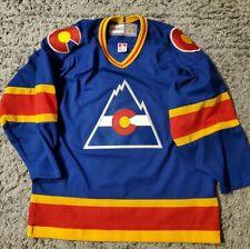 Colorado Rockies Vintage CCM Hockey Jersey Medium Made in CANADA