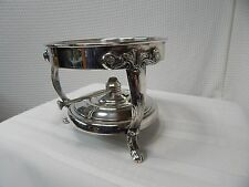 Vintage! Sterno Footed Chafing Dish Stand