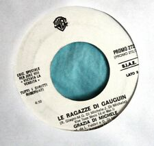 """GRAZIA DI MICHELE/ALBANO - LE RAGAZZE DI../SEMPRE.. - VINILE 7"""" PROMO EDITION"""