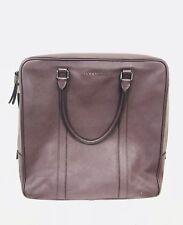 Burberry Burgundy Large Laptop Bag