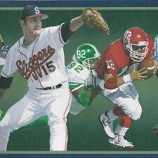 Sports Football Baseball - 45 feet - FREE SHIP - $35 can$ Wallpaper Borders A372