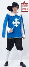 French Musketeer Renaissance Medieval Adult Mens Costume.. CHEAPEST!!!!!