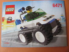 LEGO 6471 @@ NOTICE / INSTRUCTIONS BOOKLET / BAUANLEITUNG 1