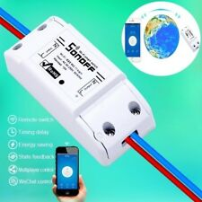 Electronic Remote Control Switch Wireless Wifi Power Switch on-off Button A55
