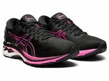 ASICS GEL-KAYANO 27 Black Pink Glo Womens Running Training Shoe