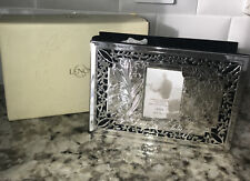 "New Lenox Photo Album Silverplate ""Our wedding"" Holds 80 4X6 Photos Retired Item"