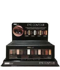 Beauty Treats Eye Contour Palette 12 Matte Shimmer Eyeshadow Eyebrow Cream
