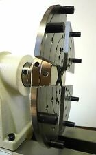 """Wood Lathe Bowl Chuck with 8"""" Jumbo Jaws + 2 Jaw Sets Fits 1-8 + 3/4-16 New"""