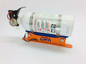 Quick Release Fire Extinguisher Mount - Weld on / Clamp on