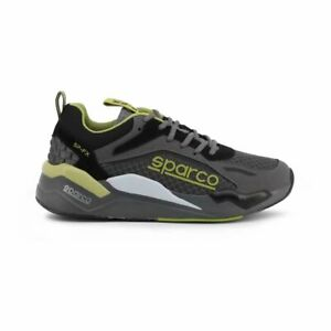 Sparco SP-FX Grey/Green Shoes Sneakers