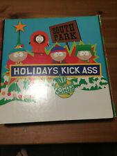 South Park Rare VHS Promo Holidays Kick A$$ Box Mr Hankey Plush Comedy Central