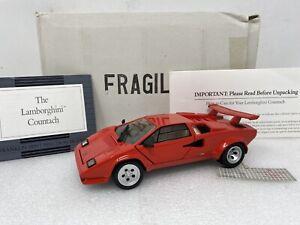 1/24 Franklin Mint Lamborghini Countach Red  B11NK22
