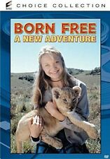 BORN FREE: NEW ADVENTURE  Region Free DVD - Sealed