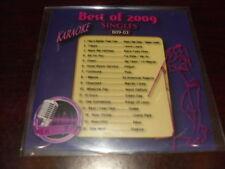 BEST OF 2009 SINGLES KARAOKE DISC B09-03 CD+G POP PITBULL PINK AKON DRAKE NE YO