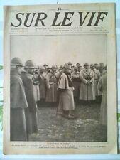 """Journal/Revue """"SUR LE VIF"""" N°71 du 18 Mars 1916"""