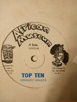 """Gregory Isaacs – Top Ten - 12"""" Vinyl Single"""