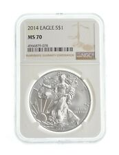 MS70 2014 American Silver Eagle - Graded NGC *487
