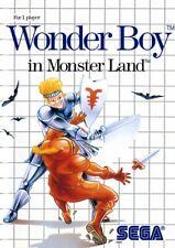 SEGA Master System Spiel - Wonder Boy in Monster Land mit OVP NEUWERTIG