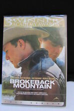 Nuovissimo Sigillato Brokeback Mountain (DVD 2009 Widescreen) Michelle William