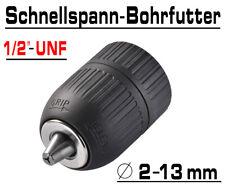 "Schnellspann Bohrfutter Bohrmaschinen Futter Für Bohrer 2 - 13mm 1/2"" UNF G00510"