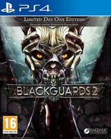 Blackguards 2 Limited Day One Edition PS4 * NEW SEALED PAL *