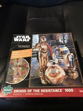Buffalo Star Wars Photomosaics Droids of the Resistance 1000pc puzzle New