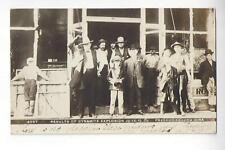 Results Of Dynamite Explosion, June 10 1909, Fredericksburg, Iowa RPPC