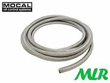 MOCAL AEROQUIP GRH-8 AN -8 JIC OIL COOLER STAINLESS STEEL BRAIDED HOSE PIPE ZY