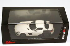 1:43 Brabus 700 BITURBO base MERCEDES SLS AMG c197 BIANCO WHITE/Carbon-nero