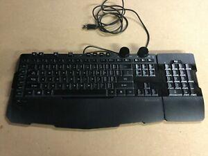 Microsoft multimedia/gaming USB keyboard