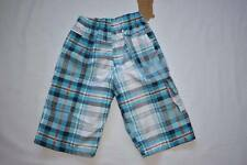 Boy's Check Shorts Side Pockets 4-14 Years