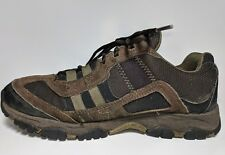 Timberland 31125 Brown Leather Sport Edge Low Mens Trekking Trainers Sz 10.5 EUC