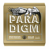 Ernie Ball Paradigm Light Acoustic Guitar Strings - 11-52  80/20 Bronze - P02088