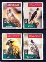 Birds of Prey, Saker, Falcon, Peregrine,UAE 2003 MNH 4v