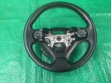 Nissan Micra K13  2016 Steering Wheel Black Leather 3 Spoke With Controls  BLACK