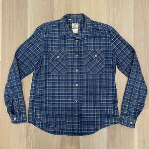 Levi's Vintage Clothing LVC Made in Italy Plaid Western Work Shirt M Medium RRL