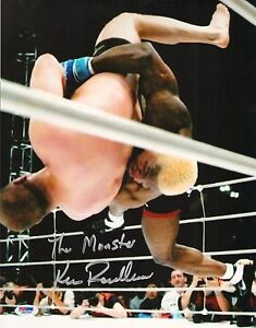 Kevin Randleman Signed UFC 11x14 Photo PSA/DNA COA Pride GP Picture Fedor Suplex